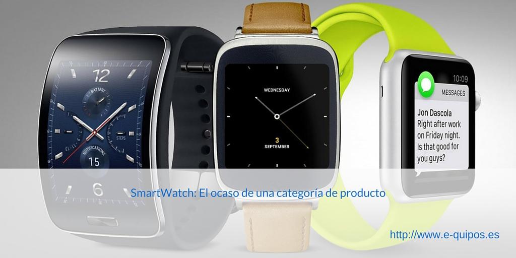 Imagen SmartWatch: El ocaso de una categoría de producto