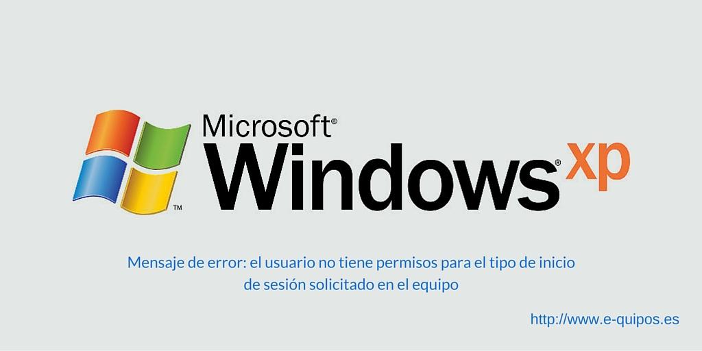 Imagen con logo windows xp