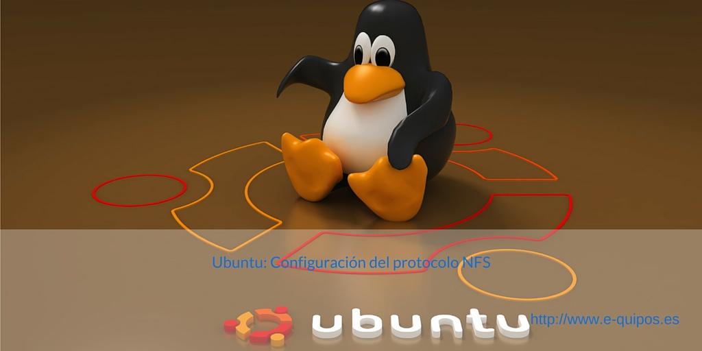 Portada - Ubuntu: Configuración del protocolo NFS