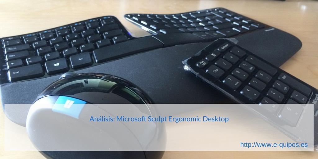Imagen Microsoft Sculpt Ergonomic Desktop